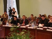 А roundtable discussion in the National Institute for Strategic Studies